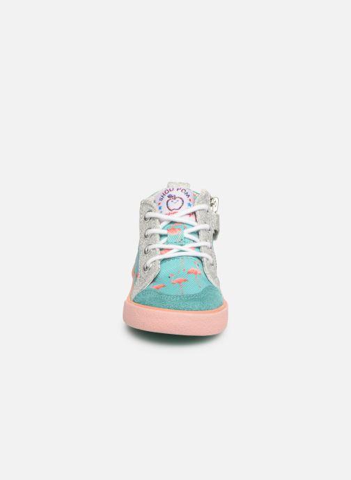 Bottines et boots Shoo Pom Bb Zip Basket Multicolore vue portées chaussures