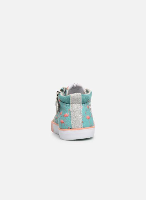 Bottines et boots Shoo Pom Bb Zip Basket Multicolore vue droite
