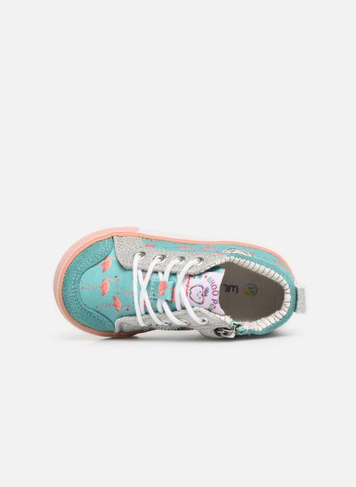 Bottines et boots Shoo Pom Bb Zip Basket Multicolore vue gauche
