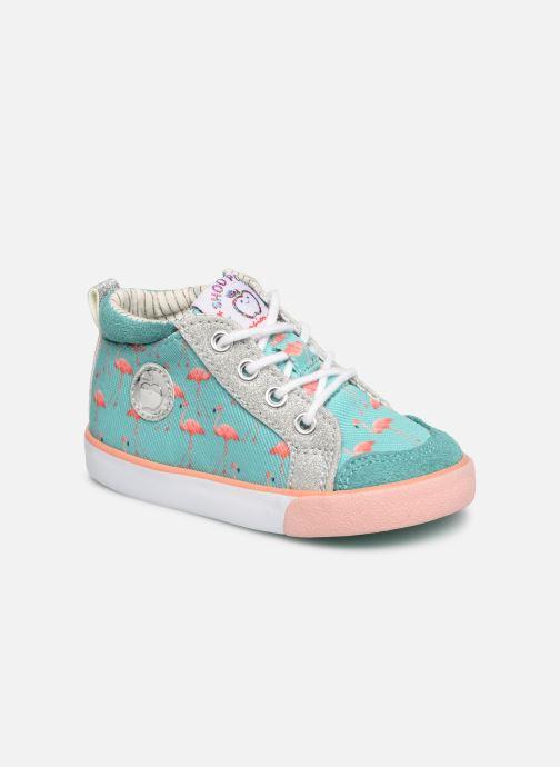 Bottines et boots Shoo Pom Bb Zip Basket Multicolore vue détail/paire