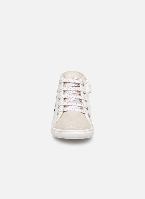 Bottines et boots Shoo Pom Bouba Cloud Blanc vue portées chaussures