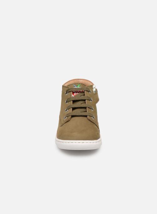 Bottines et boots Shoo Pom Bouba Zip Desert Vert vue portées chaussures