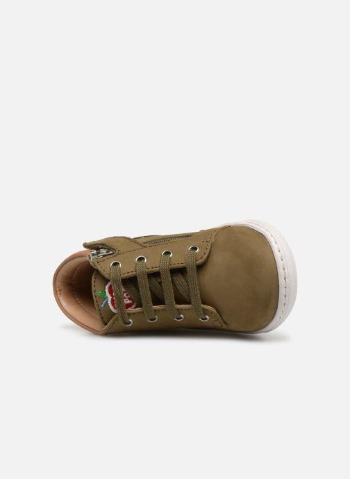 Bottines et boots Shoo Pom Bouba Zip Desert Vert vue gauche