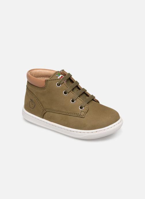 Bottines et boots Shoo Pom Bouba Zip Desert Vert vue détail/paire