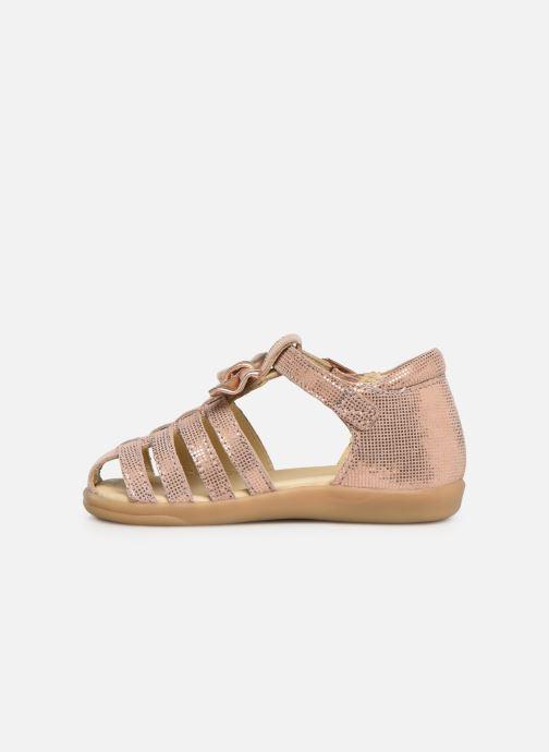 Sandales et nu-pieds Shoo Pom Pika Spart Knot Rose vue face