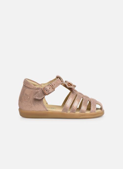 Sandales et nu-pieds Shoo Pom Pika Spart Knot Rose vue derrière