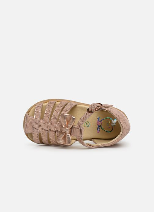Sandals Shoo Pom Pika Spart Knot Pink view from the left