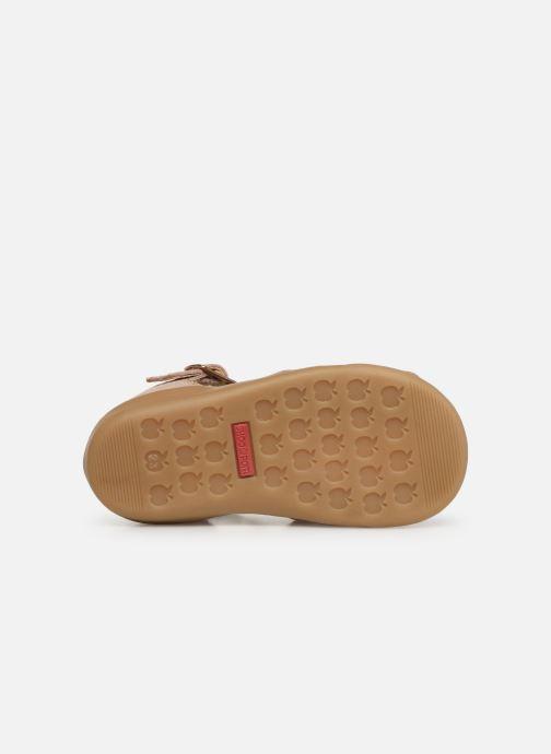 Sandales et nu-pieds Shoo Pom Pika Spart Knot Rose vue haut