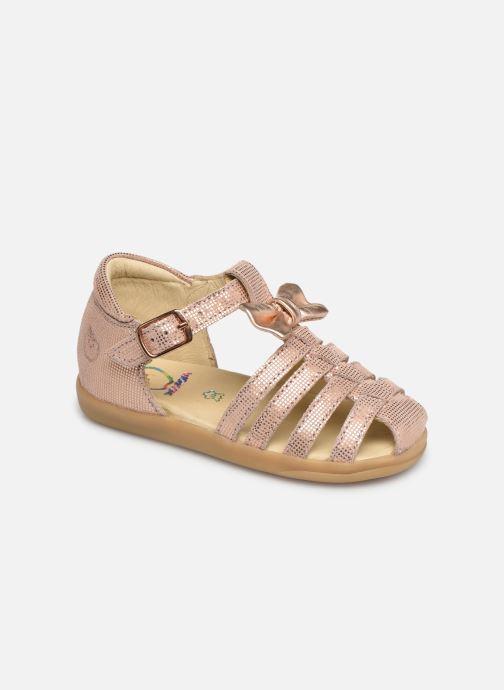 Sandales et nu-pieds Shoo Pom Pika Spart Knot Rose vue détail/paire