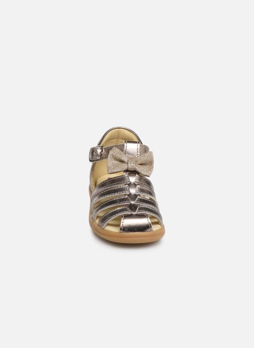 Sandalen Shoo Pom Pika Spart Knot gold/bronze schuhe getragen