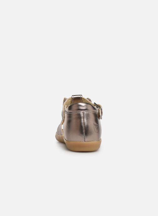 Sandalen Shoo Pom Pika Spart Knot gold/bronze ansicht von rechts