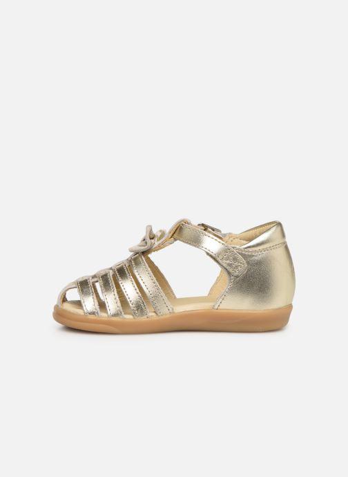 Sandales et nu-pieds Shoo Pom Pika Spart Knot Or et bronze vue face