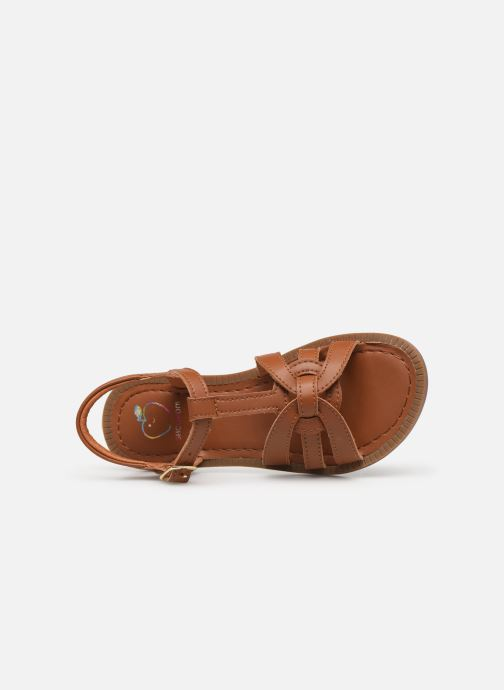 Sandali e scarpe aperte Shoo Pom Solar Buckle Marrone immagine sinistra