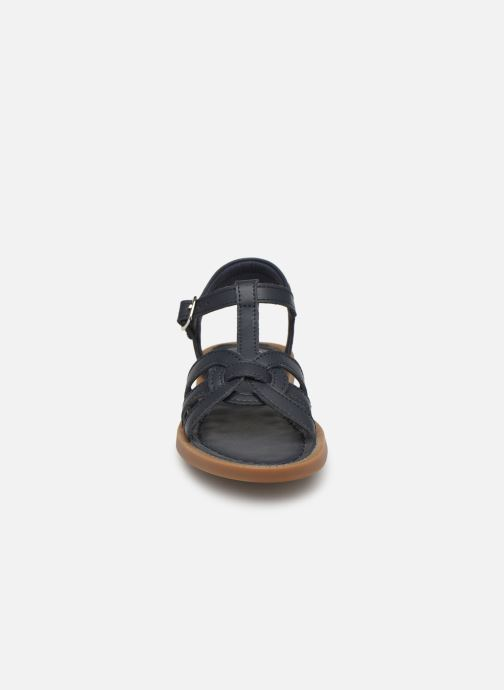 Sandali e scarpe aperte Shoo Pom Solar Buckle Azzurro modello indossato