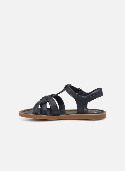 Sandales et nu-pieds Shoo Pom Solar Buckle Bleu vue face