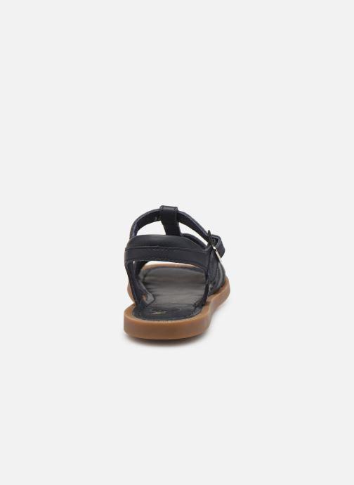 Sandales et nu-pieds Shoo Pom Solar Buckle Bleu vue droite