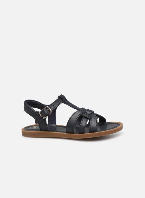 Sandales et nu-pieds Shoo Pom Solar Buckle Bleu vue derrière