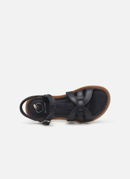 Sandales et nu-pieds Shoo Pom Solar Buckle Bleu vue gauche