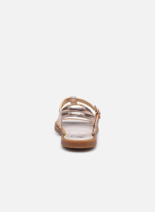 Sandali e scarpe aperte Shoo Pom Solar Buckle Argento immagine destra
