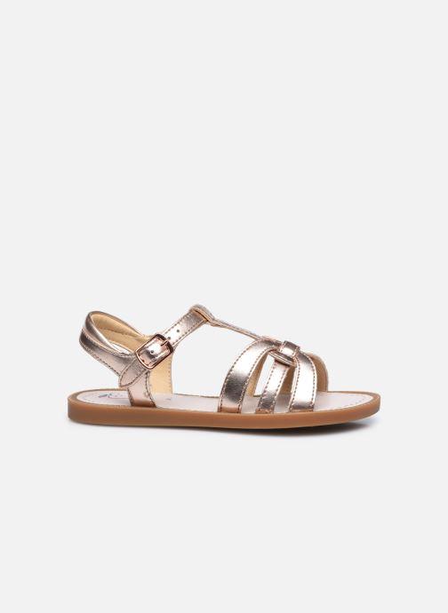 Sandali e scarpe aperte Shoo Pom Solar Buckle Argento immagine posteriore