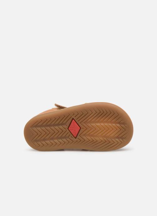 Sandales et nu-pieds Shoo Pom Tity Grigri Marron vue haut