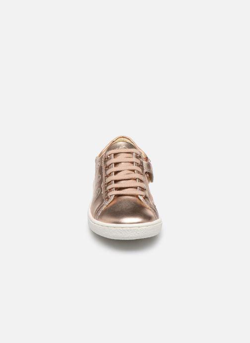 Baskets Shoo Pom Ducky Balloon Or et bronze vue portées chaussures