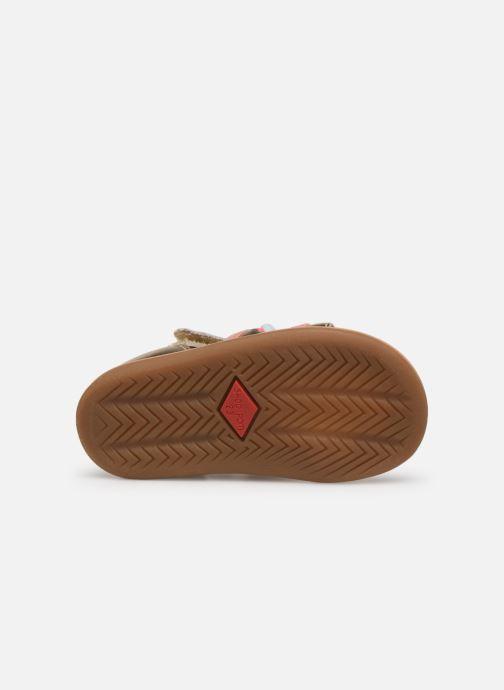 Sandales et nu-pieds Shoo Pom Tity New Pompon Or et bronze vue haut