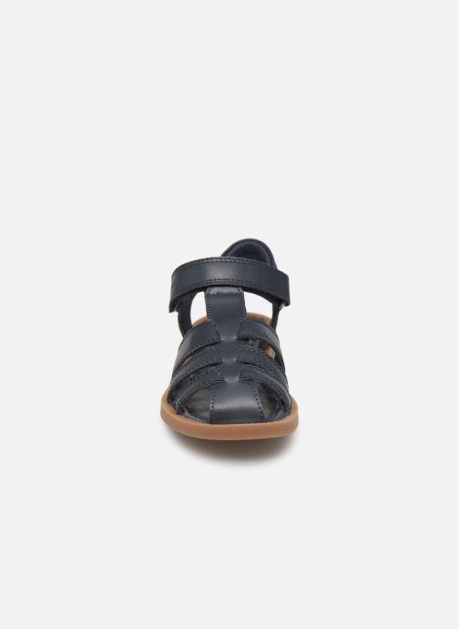 Sandales et nu-pieds Shoo Pom Solar Tonton Bleu vue portées chaussures