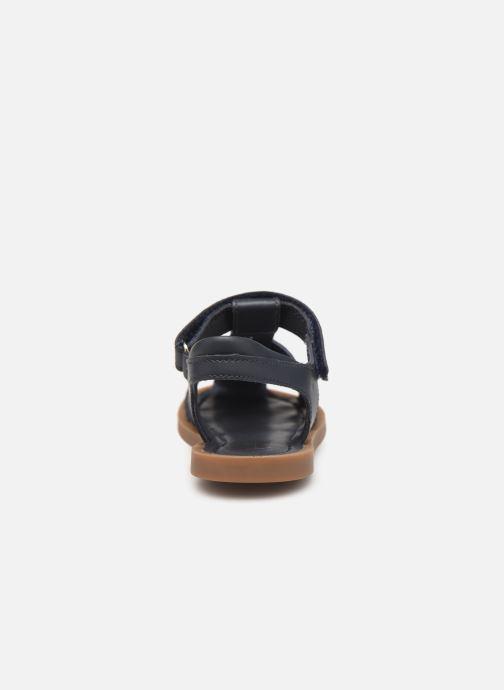 Sandales et nu-pieds Shoo Pom Solar Tonton Bleu vue droite