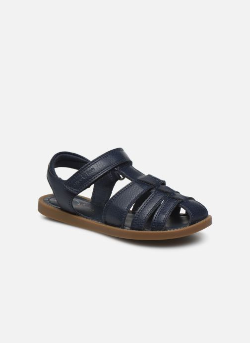 Sandales et nu-pieds Shoo Pom Solar Tonton Bleu vue détail/paire