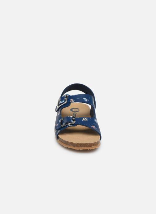 Sandales et nu-pieds Conguitos Adrian Bleu vue portées chaussures