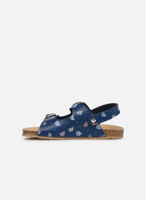 Sandales et nu-pieds Conguitos Adrian Bleu vue face