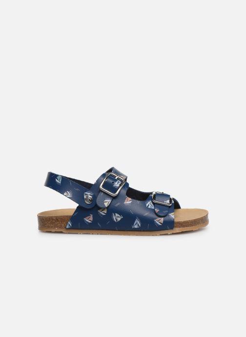 Sandales et nu-pieds Conguitos Adrian Bleu vue derrière