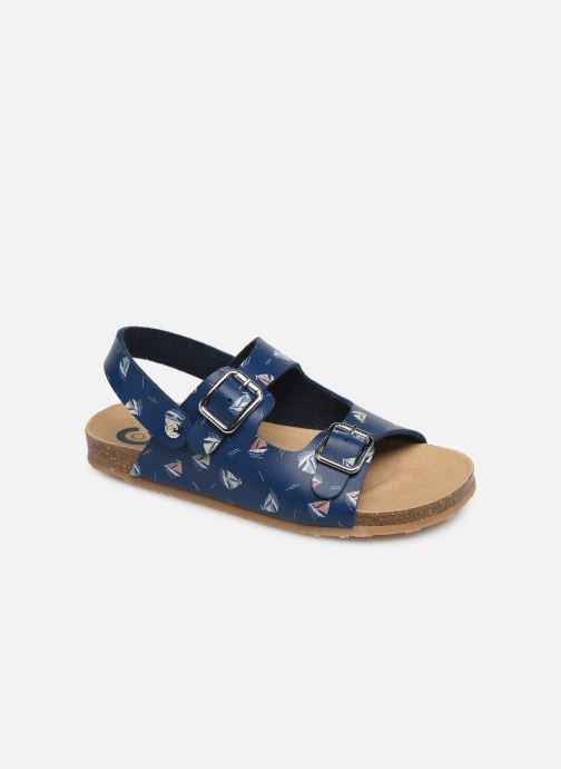 Sandales et nu-pieds Conguitos Adrian Bleu vue détail/paire