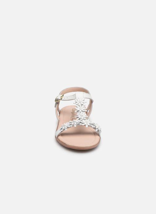 Sandales et nu-pieds Conguitos Esperanza Blanc vue portées chaussures