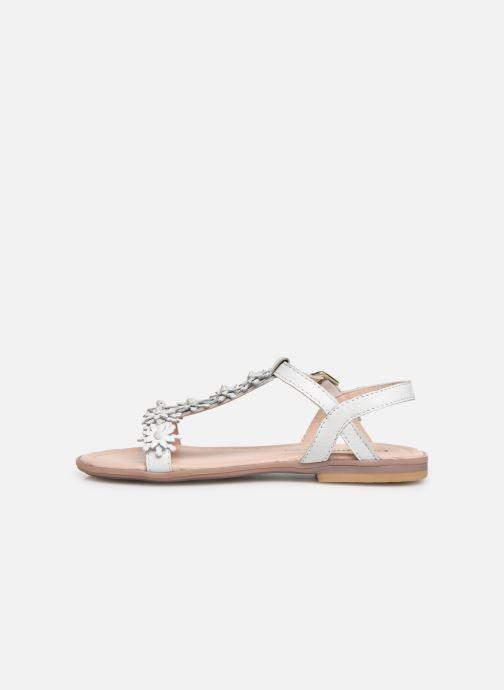 Sandales et nu-pieds Conguitos Esperanza Blanc vue face