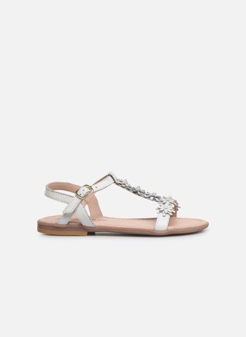 Sandales et nu-pieds Conguitos Esperanza Blanc vue derrière