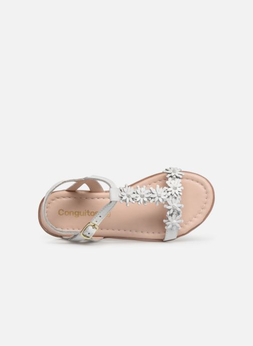 Sandales et nu-pieds Conguitos Esperanza Blanc vue gauche