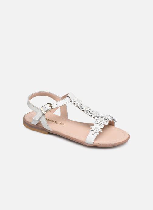 Sandales et nu-pieds Conguitos Esperanza Blanc vue détail/paire