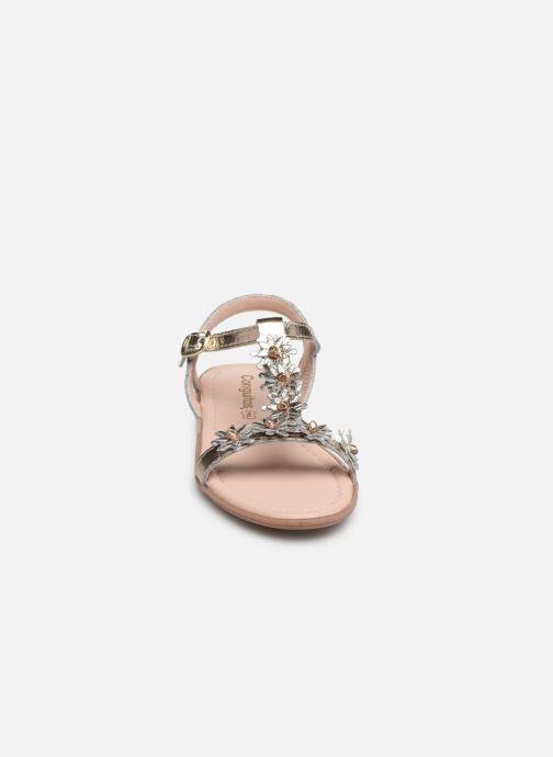 Sandales et nu-pieds Conguitos Esperanza Argent vue portées chaussures