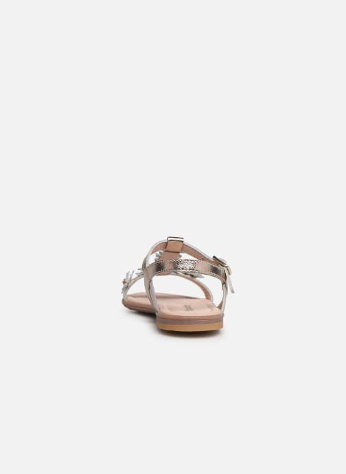 Sandales et nu-pieds Conguitos Esperanza Argent vue droite