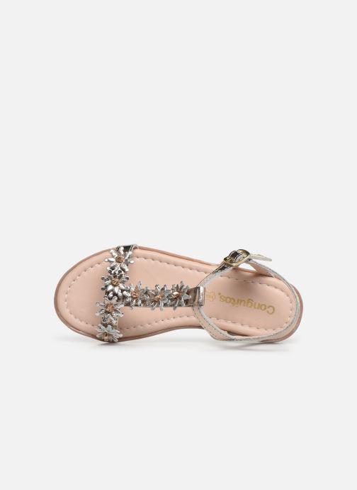 Sandales et nu-pieds Conguitos Esperanza Argent vue gauche