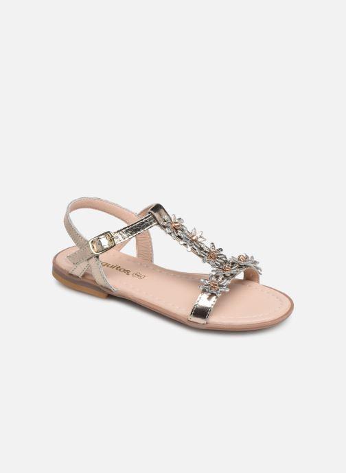 Sandales et nu-pieds Conguitos Esperanza Argent vue détail/paire
