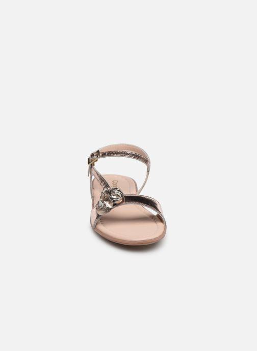 Sandales et nu-pieds Conguitos Reina Or et bronze vue portées chaussures
