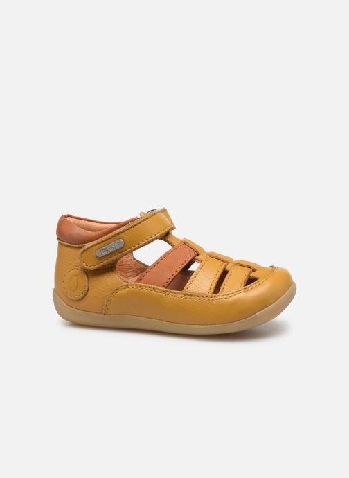 Sandales et nu-pieds Aster Denys Jaune vue derrière