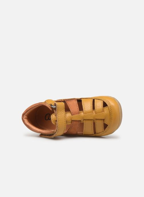 Sandales et nu-pieds Aster Denys Jaune vue gauche
