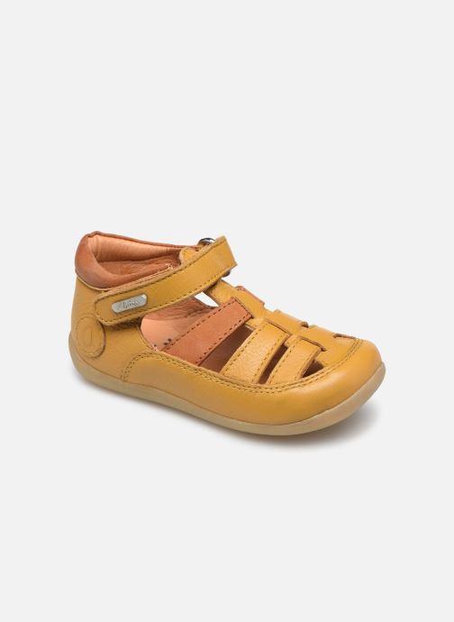 Sandales et nu-pieds Aster Denys Jaune vue détail/paire