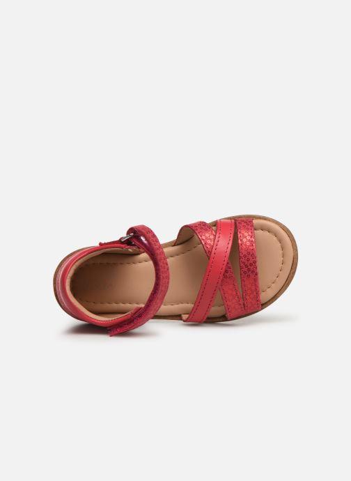 Sandales et nu-pieds Aster Nawak Rose vue gauche