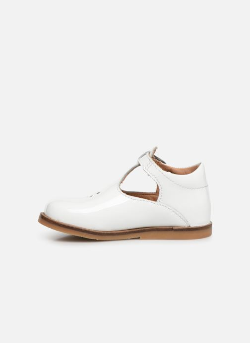 Ballet pumps Aster Noria White front view