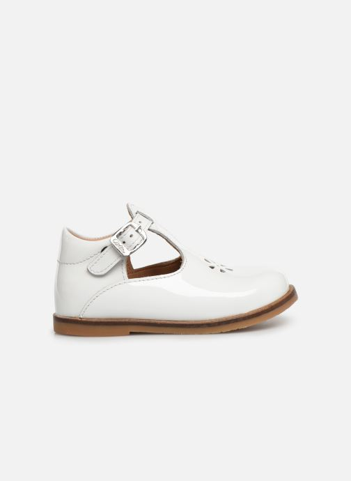 Ballet pumps Aster Noria White back view